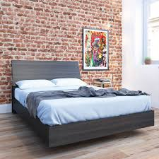 Full Platform Bed With Headboard Fashion Bed Group Murray Platform Bed Hayneedle