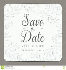 Wedding Invitation Card Samples Save The Date Wedding Invitation Card Template With Silver Color