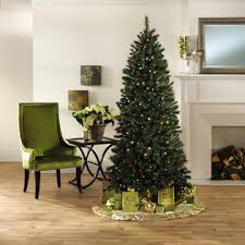 7 foot slim pine tree light up your seasonal at kmart