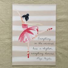 ballerina a4 print pink paddock store