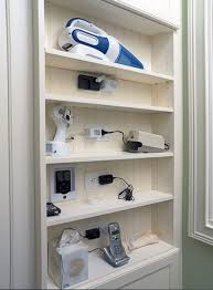 Charging Station Shelf Multi Device Charging Station Home Office Traditional With