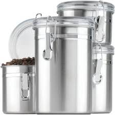 kitchen canister sets black anchor hocking 4 kitchen canister set reviews wayfair