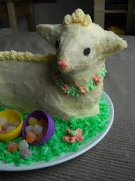 vegan easter lamb cake nom nom nom blog com
