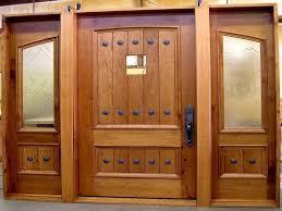 all glass front door modern solid wood exterior front doors