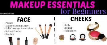 makeup essentials list for beginners mugeek vidalondon