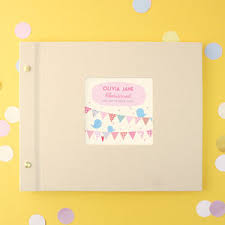 Baby Photo Albums Personalised Baby Photo Albums Notonthehighstreet Com