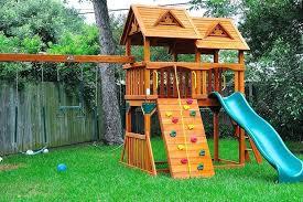 Wooden Backyard Playsets Diy Outdoor Play Structure Plans Backyard Play Structures Plans