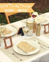 gold party decor ideas for milestone celebrations celebrations
