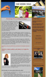 my newsletter builder examples for real estate email marketing