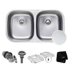 kraus kitchen sinks kitchen the home depot