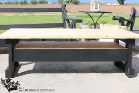 wood coffee table makeover video and photos madlonsbigbear com
