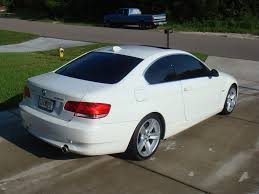 alpine white 2007 bmw 335i coupe w 6 spd black int alum trim