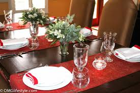 Casual Table Setting Casual Yet Elegant Holiday Table Setting Omg Lifestyle Blog