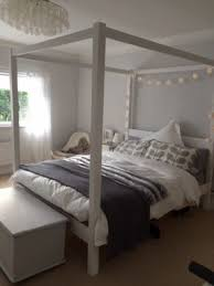 Four Post Canopy Bed Frame King Size Four Poster Bed Open Travel