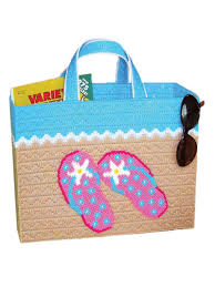 flip flop bag flip flops bag plastic canvas pattern from e