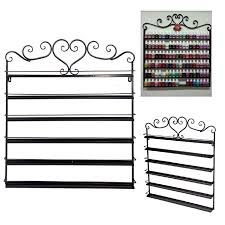 6 tier nail polish holder organizer wall mount nail polish rack