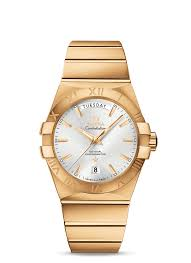 constellation omega co axial day date 38 mm 123 50 38 22 02 002