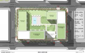 Apartment Block Floor Plans Block Sized West Loop Apartment Plan Returns With Tweaked Design