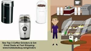 Mr Coffee Burr Mill Grinder Review Coffee Grinder Reviews U0026 Deal Burr U0026 Krups Youtube