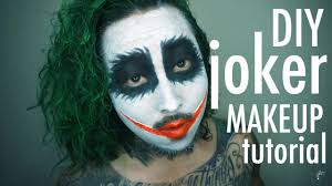 joker makeup tutorial youtube