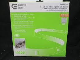 commercial electric led flex ribbon light kit retail store returns automotive yard household lighting more