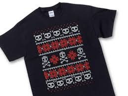 skull sweater t shirt