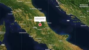 Italy Earthquake Map by 6 2 Magnitude Quake Hits Central Italy Cnn Video