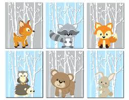 wall ideas mr fox wall art original watercolor jumping fox wall woodland nursery decor animals wall art nursery art boys girls gray blue trees fox deer bunny red fox wall art mr fox wall art fantastic mr fox wall art