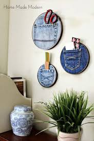 Cool Crafts To Make For Your Room - fun dollar store crafts for teens teen diy pocket organizer and