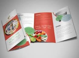 nutrition brochure template food beverage brochure templates mycreativeshop