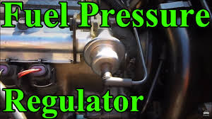 lexus v8 fuel pump how to replace a fuel pressure regulator youtube