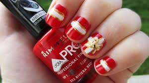 nail art red and gold gallery nail art designs