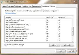 Microsoft Silver Light Microsoft Silverlight Application Storage U0026 Configuration Options