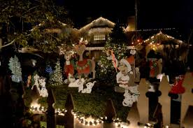 Yucaipa Christmas Lights Holiday Lights Still Merry And Bright On Candy Cane Lane In