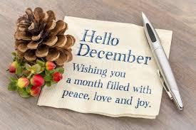 imagenes hola diciembre hola diciembre deseándole paz ame una alegría de d imagen de