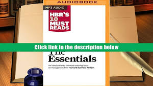 Audiobook Hbr S 10 Must by Audiobook Hbr S 10 Must Reads The Essentials Harvard Business