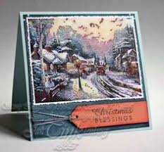 kinkade cards rubber st paper crafts