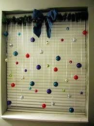 Solar Powered Christmas Window Decorations by Christmas Ball Curtain Window Decoration Christmas Easter Ideas