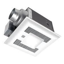 shop panasonic 0 4 sone 110 cfm white bathroom fan energy star at