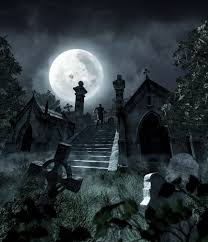 halloween scary backgrounds graveyard backgrounds wallpapersafari