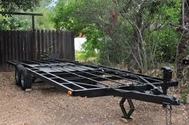 tiny house trailer for sale with extras for your project