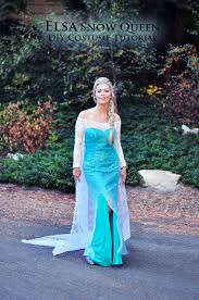 Ice Queen Halloween Costume Ideas Diy Frozen Elsa Snow Queen Costume Love Maegan