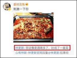 cuisine r馮ime 一直心直口快的戲精林更新 終於是被網友懟翻了 雪花新聞
