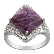 nickel free white gold 28 best charoite jewelry images on overlays gemstones