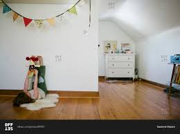 Laminate Floor Lifting Up Little Lifting Up Doll Stock Photo Offset