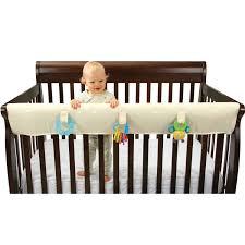 Convertible Crib Rail Leachco Inc Easy Teether Xl Organicsmart Convertible Crib Rail