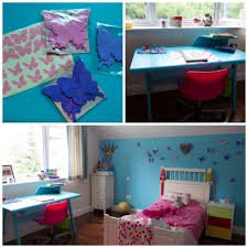 Large Butterfly Decorations by Teens Bedroom Teenage Ideas Diy Study Desk Teen Girls