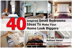 home interior design for small bedroom 40 inspired small bedrooms ideas to make your home look bigger