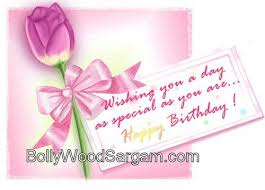 wishing you a day as special as you are happy birthday greeting card