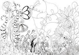 sketch of flower garden drawing of sketch